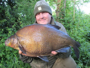 BARDEN LAKE - Ted Bryan - 11lb 8oz Bream