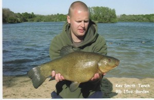 BARDEN LAKE - Kevin Smith - 9lb 15oz Tench